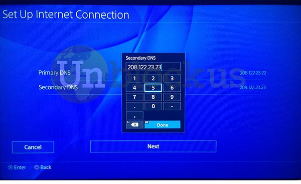 PS4 DNS 2
