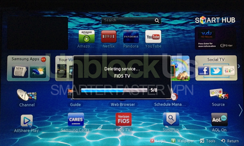 Setting up Samsung TV or Blu Ray player with Unblock-Us – Unblock-Us