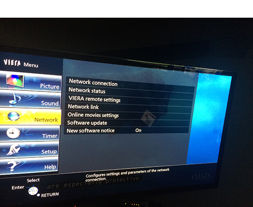 Setting up Panasonic TV or Blu ray player with Unblock-Us
