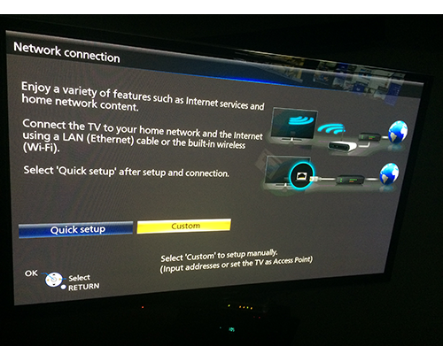 Setting up Panasonic TV or Blu ray player with Unblock-Us – Unblock-Us