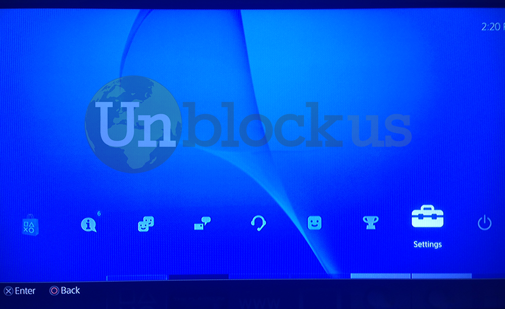 How to setup your Playstation 4 PS4 to use Unblock-Us