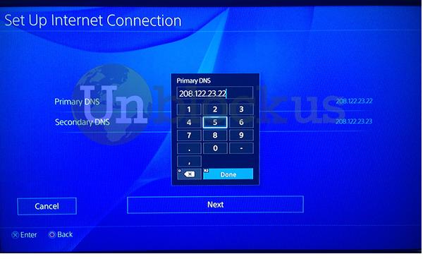 PS4 DNS 1