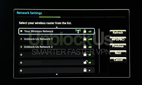 Samsung TV Network Settings