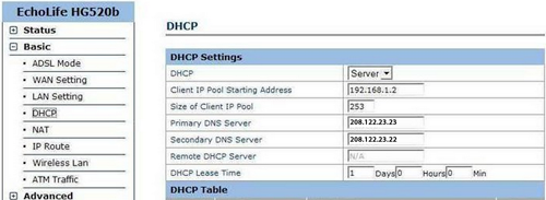 Setting up your Huawei Echolife router with Unblock-Us – Unblock-Us